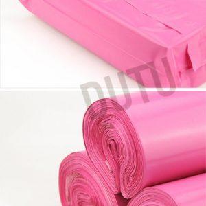 Túi đóng gói hàng màu hồng